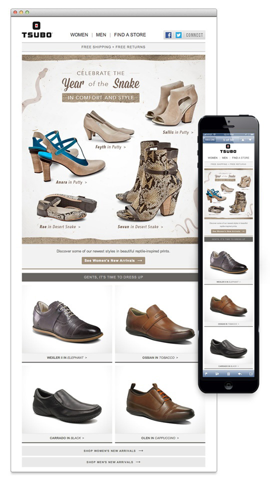 Tsubo Shoes Shopping email