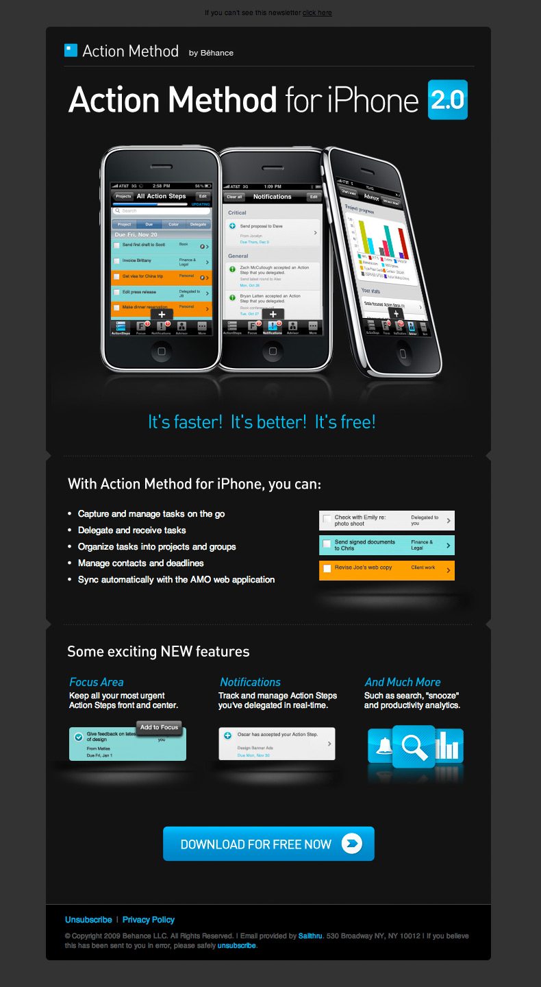 Action Method for iPhone 2.0