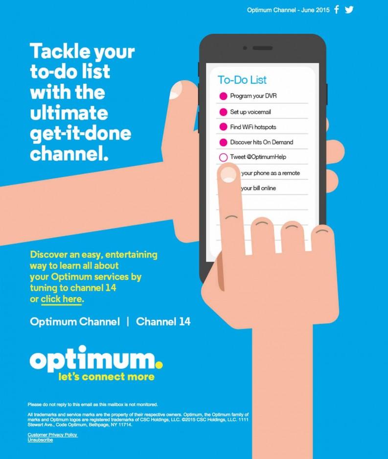 Optimum To Do List Channel