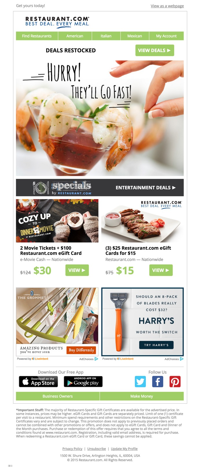 Promo email design html email gallery for Christmas newsletter design ideas